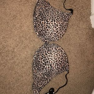 Tops - PINK cheetah bra